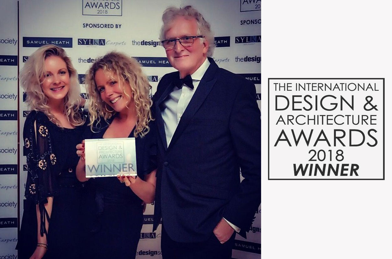 In September, Davidson's Rosebery dining table won Best Table at the International Design & Architecture Awards