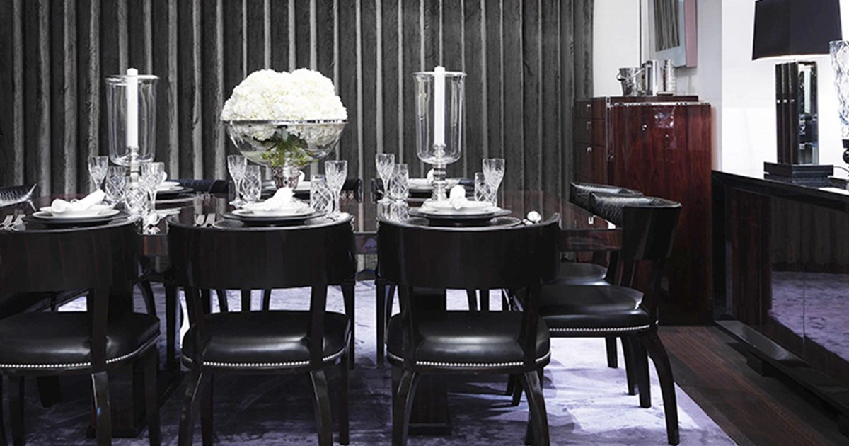 How To Style Black Furniture In Your Interiors